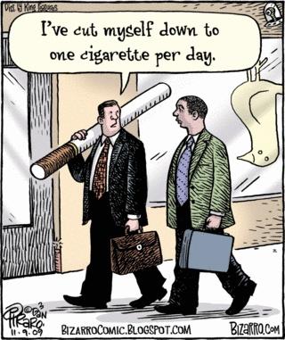 una sigaretta al giorno